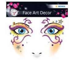 Näokleebis Herma Face Art Decor - müstiline