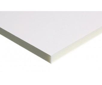 Kapa plaat Kapa-Line 50x70cm, 10mm - valge