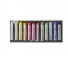 Pastellkriidid Lukas Soft Pastel - 12 värvi