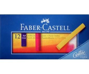 Pastellkriidid Faber-Castell Creative Studio - 12 värvi