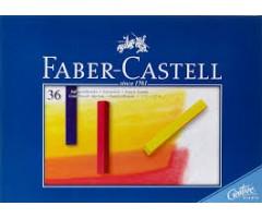 Pastellkriidid Faber-Castell Creative Studio - 36 värvi