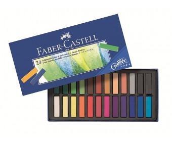 Pastellkriidid Faber-Castell Creative Studio Mini - 24 värvi