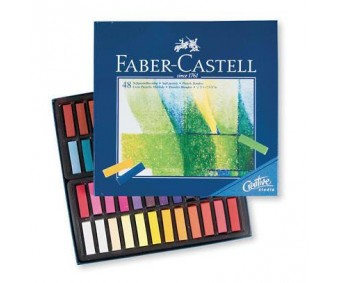 Pastellkriidid Faber-Castell Creative Studio Mini - 48 värvi