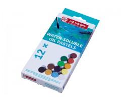 Õlipastellid Talens, vees lahustuvad - 12 värvi