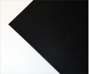 Polüetüleen 64x90cm - must, 0.5mm