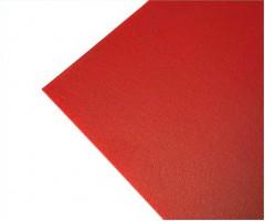 Polüetüleen 64x90cm - punane, 0.5mm