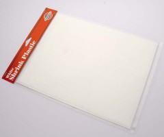 Kahanev plastik (shrink plastic) 21.5x28cm, 1 leht - valge
