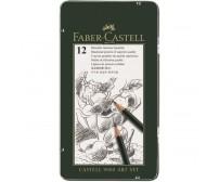 Grafiitpliiatsite komplekt Faber-Castell 9000 Art - 2H-8B