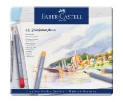 Akvarellpliiatsid Faber-Castell Goldfaber Aqua - 48 värvi