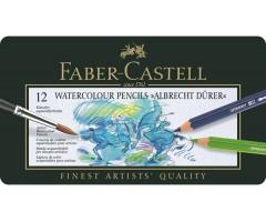 Akvarellpliiatsid Faber-Castell Albrecht Dürer - 12 värvi