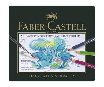 Akvarellpliiatsid Faber-Castell Albrecht Dürer - 24 värvi