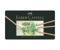 Pastellpliiatsid Faber-Castell Pitt - 36 värvi