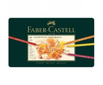 Värvipliiatsid Faber-Castell Polychromos - 60 värvi