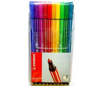 Viltpliiatsid Stabilo Pen 68 - 20 värvi