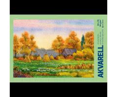 Akvarelliplokk A4 - 15 lehte