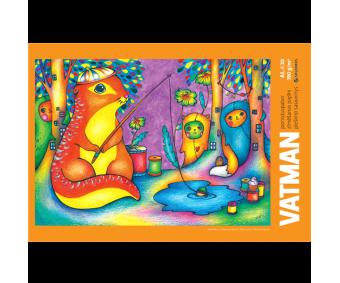 Joonistusplokk Vatman - A3, 20 lehte