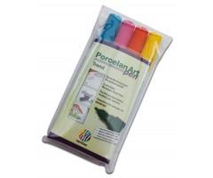 Portselanimarkerite komplekt Nerchau - Trend, 4 värvi