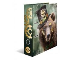 Registraator Herma A4, 7cm - Steampunk Bear