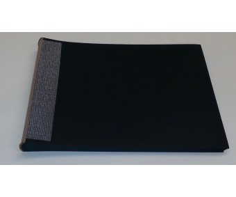 Sisuplokk albumile 35x24.5cm, 30 lehte - must