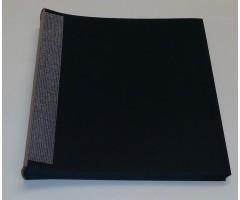 Sisuplokk albumile 23x24.5cm, 30 lehte - must
