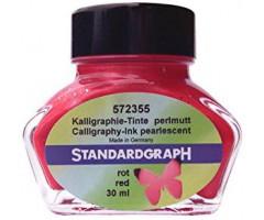 Tint Standardgraph 30ml, pärlmutter - punane