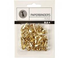 Paberineedid 8x20mm - kuld, 70tk