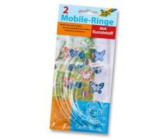 Plastikust rõngad Folia 2tk - 12cm ja 20cm