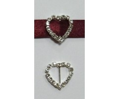 Paelapannal - süda, 15x17mm (vertikaalne)