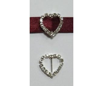 Paelapannal - süda, 20x20mm (vertikaalne)