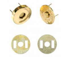 Magnetkinnitus (kotimagnet), 2 tk - ⌀ 14mm, kuld