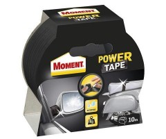 Teip Moment Power Tape (eriti tugev) 50mm x 10m, must