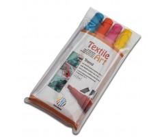 Tekstiilimarkerite komplekt Nerchau Textile Art 4 värvi - trend