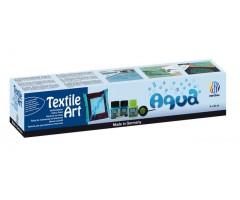 Tekstiilivärvide komplekt Nerchau Textile Art - Aqua, 6 värvi