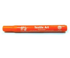 Tekstiilimarker Nerchau Textile Art - oranž