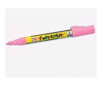 Tekstiilimarker Fabricolor, 2mm, roosa - Kuretake