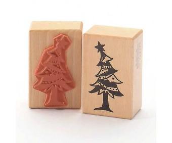 Kummitempel - jõulupuu tähekesega
