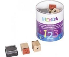 Kummitemplite komplekt Heyda - numbrid