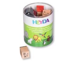 Kummitemplite komplekt Heyda - loomaaialoomad