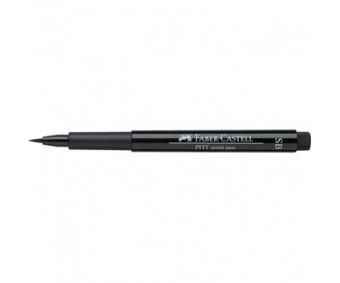 Pintsel-pliiats Faber-Castell Pitt SB (Soft Brush) - must
