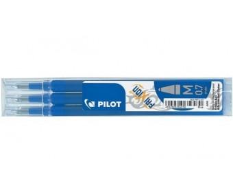 Pilot Frixion tindipliiatsi südamik, 3 tk - 0.7mm, sinine