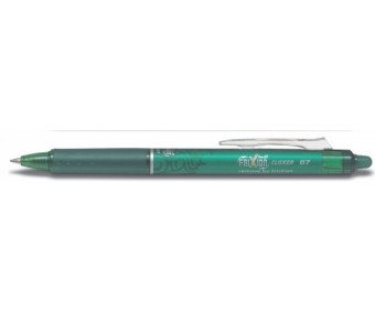 Kustutatav tindipliiats Pilot Frixion Clicker 0.7mm - roheline