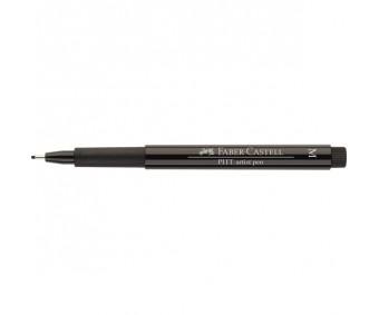 Tindipliiats Faber-Castell Pitt - must, M (0.7mm)