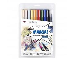 Akvarellimarkerid ABT MANGA - Tombow