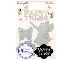 Lõiketerad Dovecraft, 3 tk - Fairy Tales