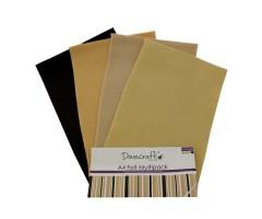 Käsitöövilt Dovecraft A4, 8 lehte - naturaalsed toonid