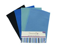 Käsitöövilt Dovecraft A4, 8 lehte - sinised toonid