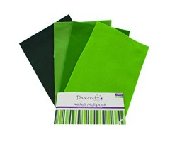 Käsitöövilt Dovecraft A4, 8 lehte - rohelised toonid
