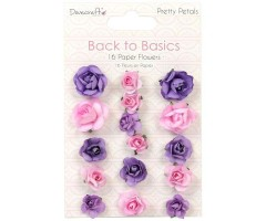 Paberlilled Dovecraft, 16 tk - Pretty Petals