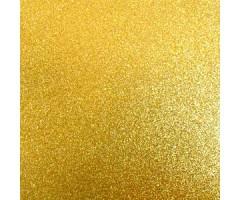 Glitter-kartong A4, 220g/m² - Gold