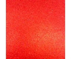 Glitter-kartong A4, 220g/m² - Red